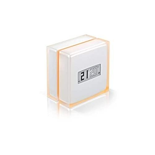 Thermostat intelligent Netatmo pour rendre le chauffage connecté compatible chaudières et pompe à chaleur Legrand Réf: NTH-PRO