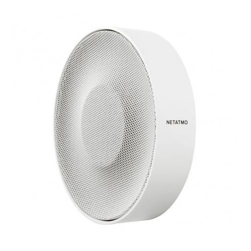 Sirène intérieure intelligente et connectée Netatmo pour caméra intérieure intelligente 110dB : Legrand Réf: NIS01-PRO