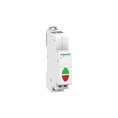 Acti 9 Schneider, iIL voyant lumineux double vert/rouge 110...230VCA Réf. A9E18325
