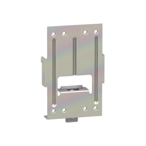 Platine d'Adaptation sur Rail DIN Accessoire Disjoncteur NSX100-250 Schneider Réf. LV429305
