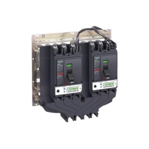 Interverrouillage mécanique pour disjoncteur à commande rotative - Compact NSX100-250 - Schneider Réf. LV429369