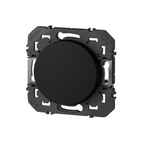 Interrupteur ou Va-et-vient Dooxie 10AX 250V~finition noir Legrand Réf. 095260