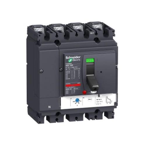 Disjoncteur + Déclencheur Magnéto-thermique TM-D Compact NSX100F  Schneider Réf. LV429652