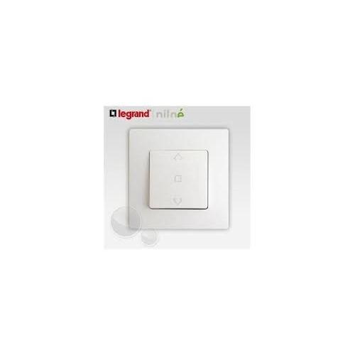 Interrupteur de volets roulants 3 positions Blanc complet Réf: 664711