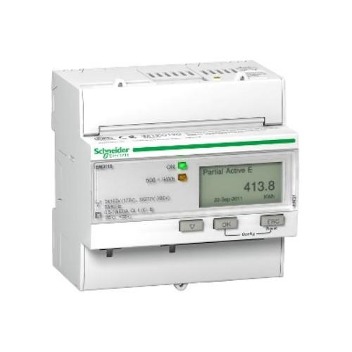 Compteur d'énergie Tri - 63A - Acti9 iEM - impulsions - MID Schneider Réf. A9MEM3110