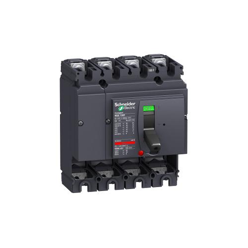 Schneider Disjoncteur Compact NSX100F 100A 4P sans déclencheur Réf. LV429008