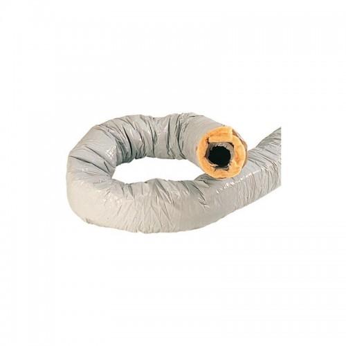 Conduit souple isolé PVC type CR - Ø80mm - 6m - calorifugé Atlantic Réf. 423050