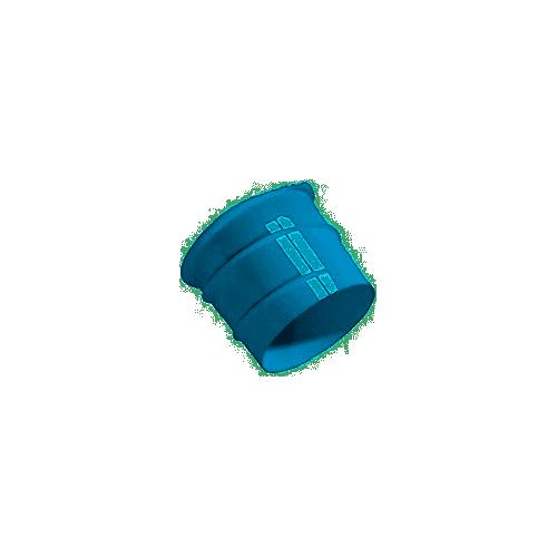 Piquage bleu Twist & Go démontable pour Hygrocosy Ø80 mm Atlantic Réf. 423129