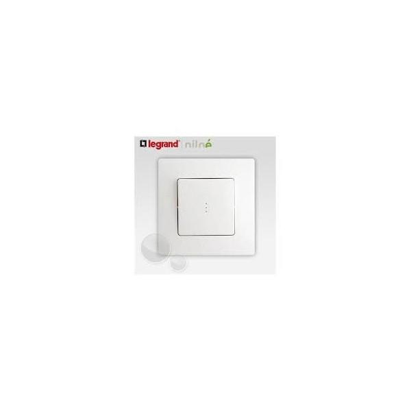 Interrupteur va et vient lumineux Blanc Complet Réf: 664710