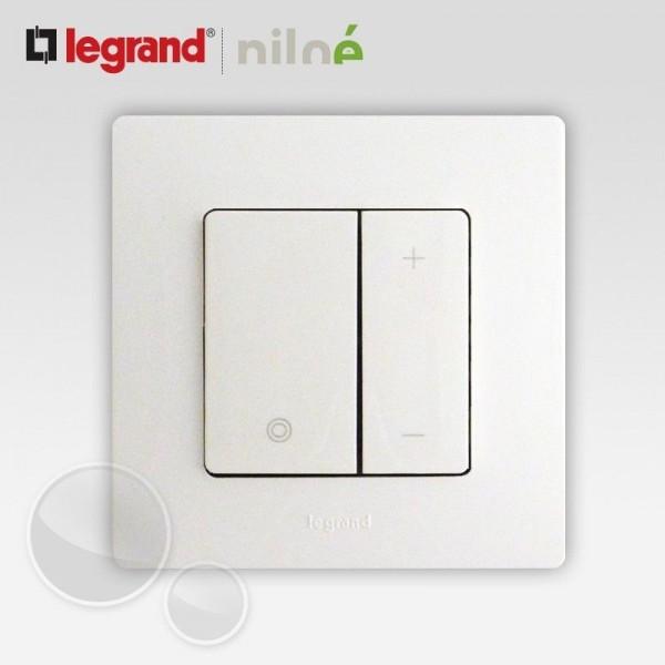 Interrupteur variateur 400W Blanc Complet Réf: 665114