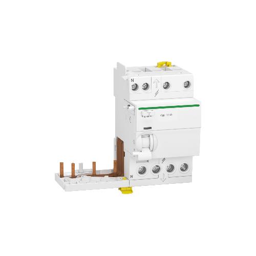Schneider Module Différentiel Vigi Tête de Groupe Acti9 iTG40 40A Type AC 300mA 3P+N Réf. A9Y13740