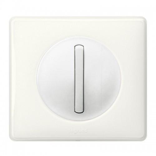 Interrupteur va et vient Céliane Blanc Complet Réf: 002