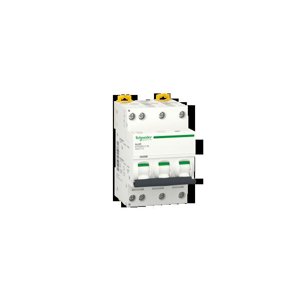 Disjoncteur Modulaire Acti9 iDT40N 16A Courbe C 3P+N Schneider Réf. A9P24716