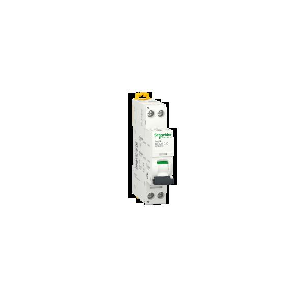 Disjoncteur Modulaire Acti9 iDT40N 10A Courbe C 10kA Schneider Réf. A9P24610