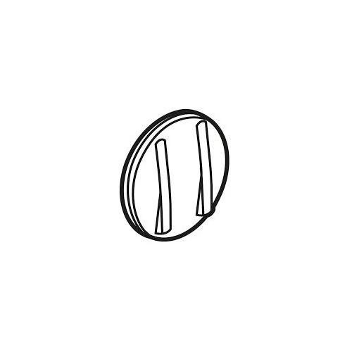 Interrupteur va et vient et bouton poussoir Céliane Blanc Complet Réf: 036