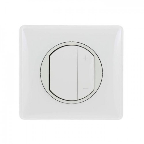 Variateur toute lampes 2 fils blanc Céliane Complet Réf: 099568