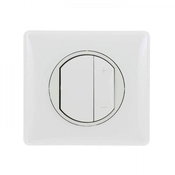 Variateur toute lampes 2 fils blanc Céliane Complet Réf: 083