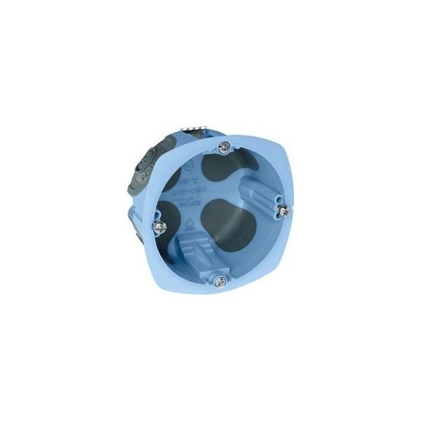 Boîte d'encastrement étanche à l'air XL Airmétic1 poste Eur'Ohm diam. 67mm  prof.  40mm Réf: 52061