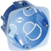Boîte d'appareillage XL Pro Eur'Ohm cloisons sèches 1 poste diam. 67mm  prof. 40mm Réf: 52041