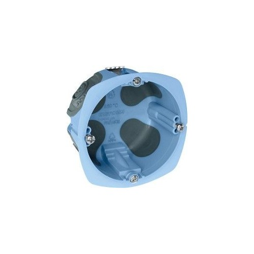 Boite d'appareillage XL Air'métic étanche à l'air Eur'Ohm diam 67mm  profondeur 50mm Réf: 52063