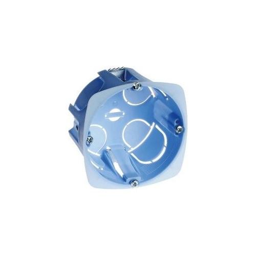 Boîte d'appareillage XL Pro Eur'Ohm cloisons sèches 1 poste diam. 67mm  prof. 50mm Réf: 52043