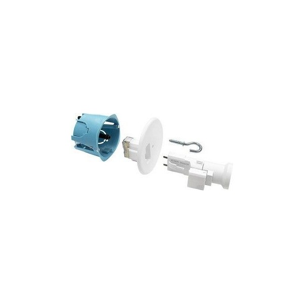 Kit DCL complet XL Pro Eur'Ohm point de centre + Douille E27 Réf: 53037