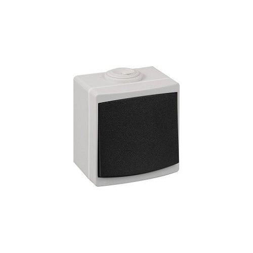 Bouton poussoir étanche gris IP55 Ouessant Réf: 60715
