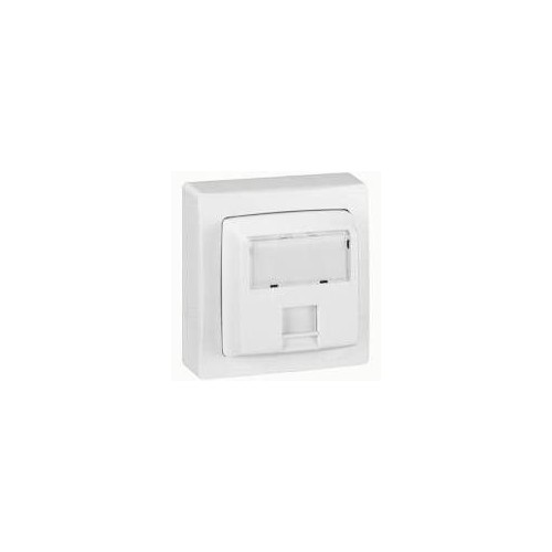 Prise RJ45 CAT.6 FTP9 Saillie complet Blanc Legrand - Réf. 086047