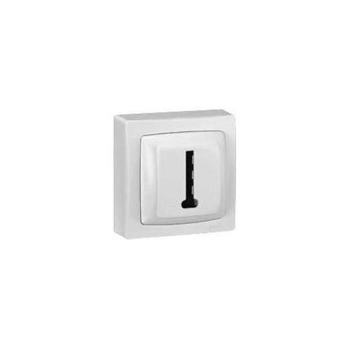 Prise Téléphone en Saillie Complet Blanc - Réf.086038