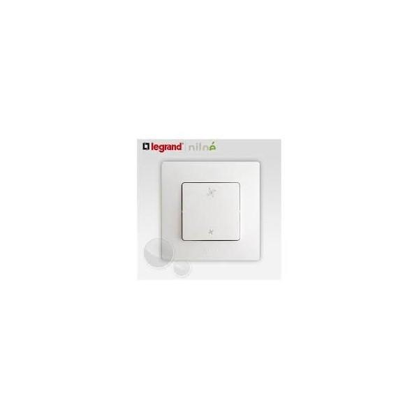 Interrupteur VMC 2 positions Blanc Complet Réf: 664791