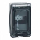 Tableau électrique gris étanche Plexo IP65 IK09 Legrand Ref: 001904