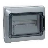 Coffret Plexo étanche gris IP65 IK09 Legrand Réf. 001921