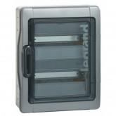 Coffret étanche Plexo 24 modules IP65 IK09 gris Legrand Réf. 001922