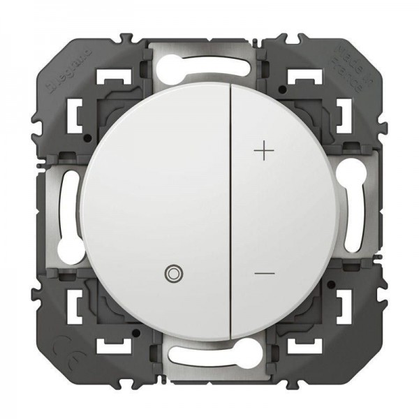 Interrupteur variateur 2 fils Dooxie Legrand Blanc Réf: 600060