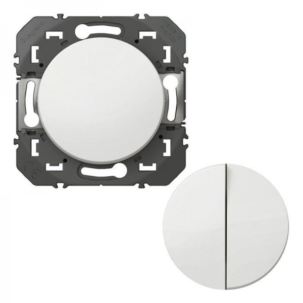 Transformateur pour la réalisation de 5 fonctions va-et-vient et poussoir Dooxie Legrand blanc Réf. 600031