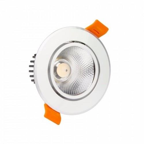 Spot 7 watts Led COB aluminium