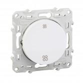 Interrupteur VMC blanc Schneider Odace Réf : S520233