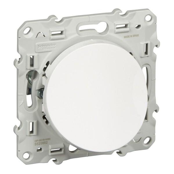 Sortie de câble blanc Schneider Odace Réf: S520662