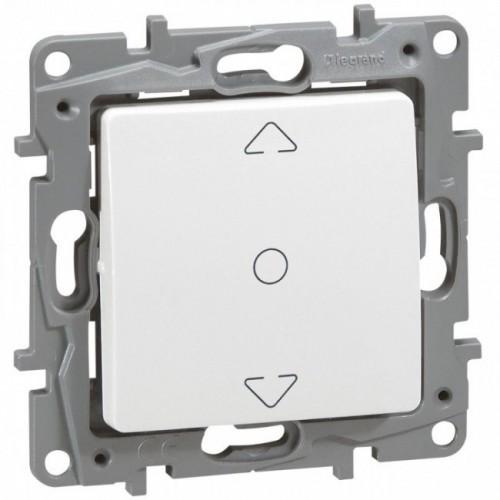 Interrupteur de volets roulants 3 positions Niloé Legrand Blanc Réf: 664711