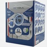 Pack 300 Boites d'encastrement étanches à l'air XL Air'métic + scie cloche Eur'Ohm diam 67mm profondeur 40mm Réf: 52072