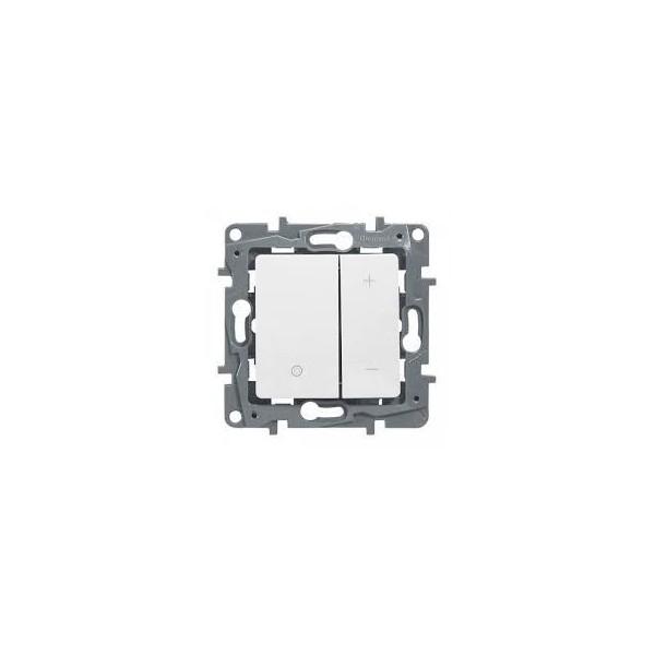 Interrupteur variateur 400W Niloé Legrand Blanc Réf: 665114