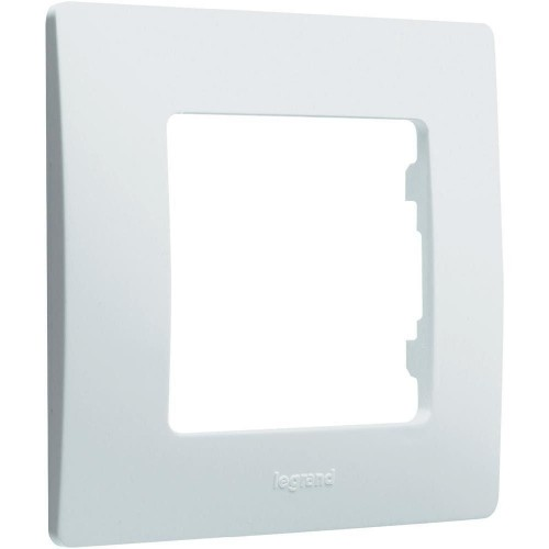 Plaque de finition simple Blanc Réf: 665001