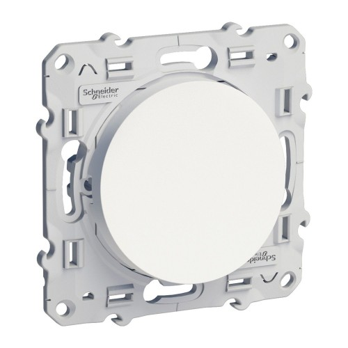 Bouton poussoir Odace Blanc Réf: S520206