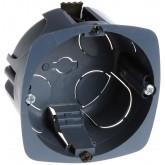 Boîte multi-matériaux XL Ultra Eur'Ohm - 1 poste - diam 67/68 mm profondeur 40 mm -Réf: 52051