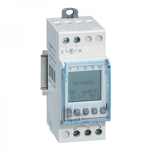 Horloge modulaire digitale auto multifonction Legrand Réf: 412631