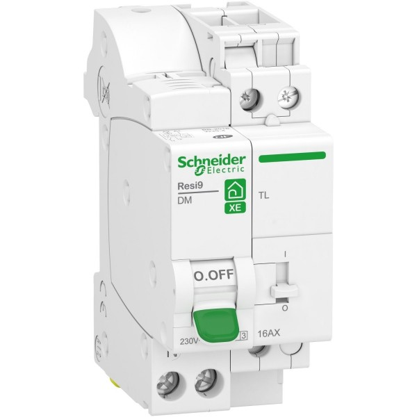 Combiné disjoncteur 16A + télérupteur Schneider Réf: R9ECL616