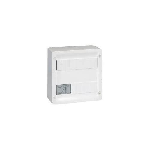 Coffret de communication Multimédia basique avec brassage - équipé et précâblé 8 prises RJ45 Legrand Réf: 413219