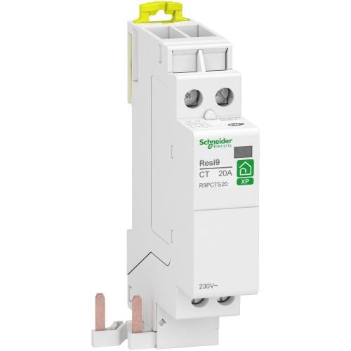 Contacteur de puissance 20A 2NO monophasé Resi9 XP Schneider Réf: R9PCTS20
