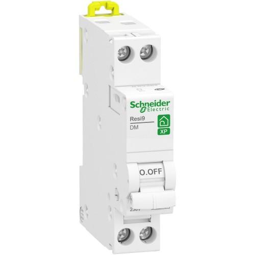 Disjoncteur modulaire Resi9 Schneider 2A courbe C monophasé  Réf: R9PFC602