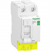 Interrupteur différentiel 40A type A Resi9 XP Schneider Réf: R9PRA240